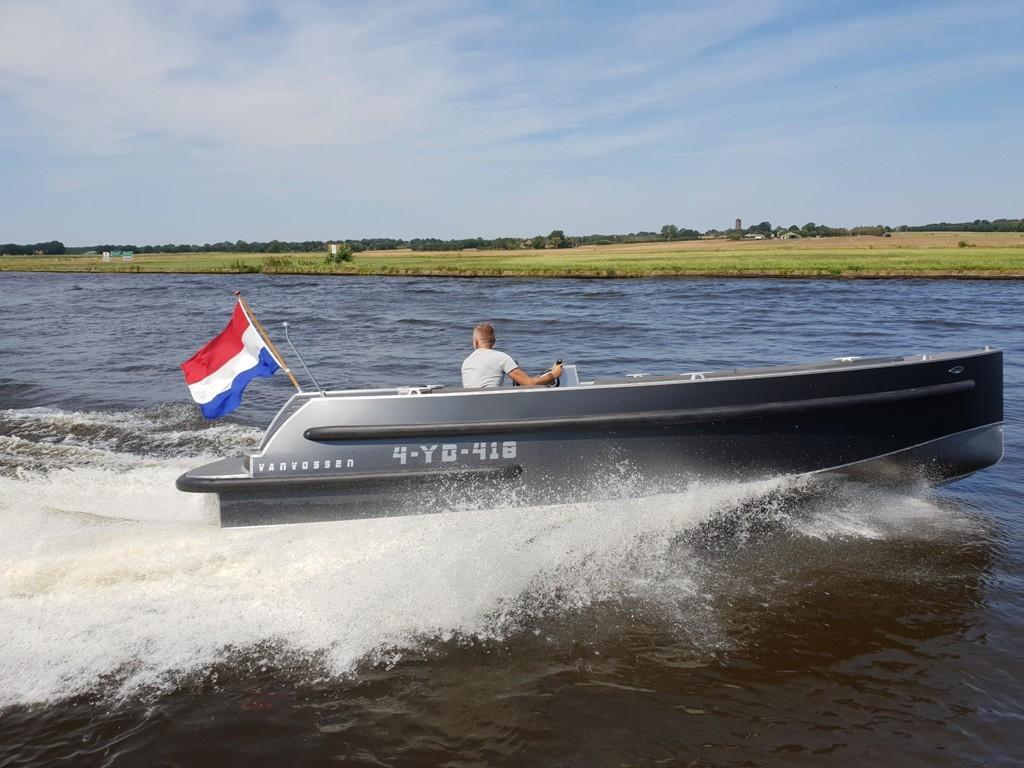 VanVossen Tender 700 aluminium 6