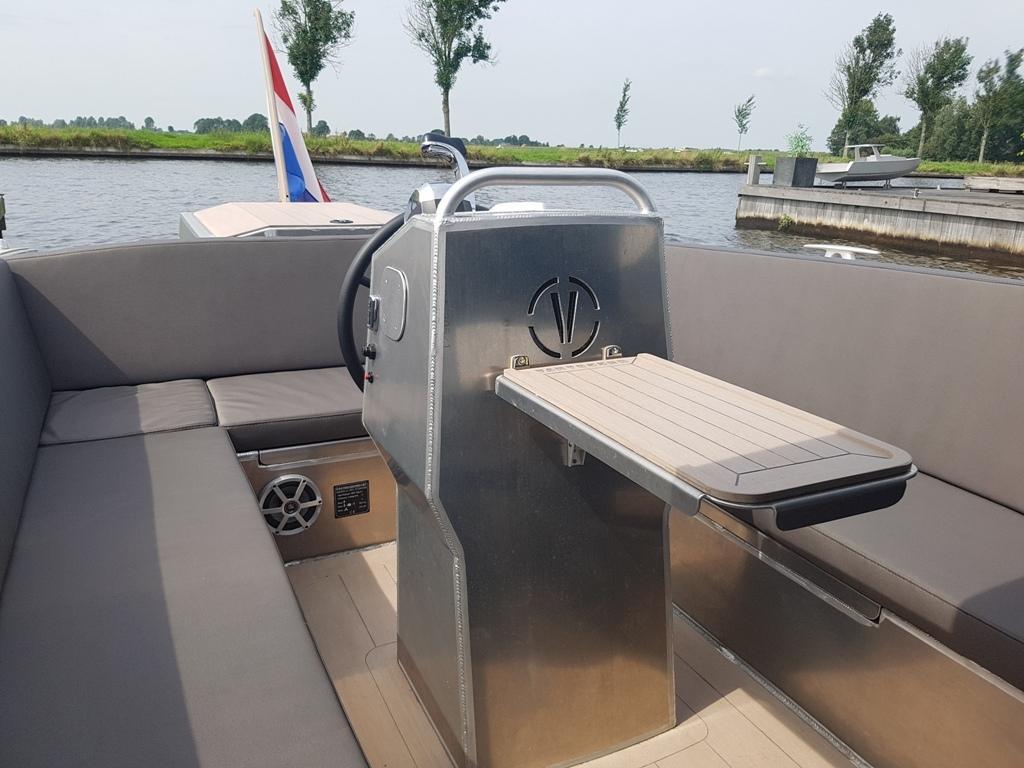 VanVossen Tender 777 aluminium 25
