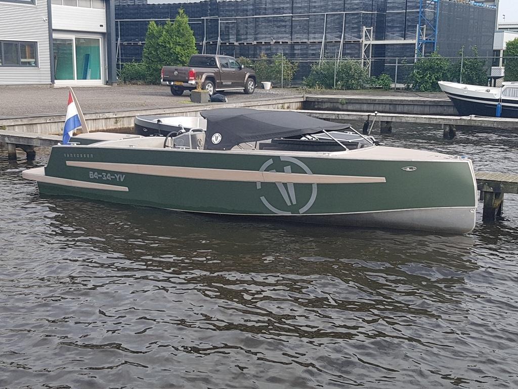 VanVossen Tender 777 aluminium 28