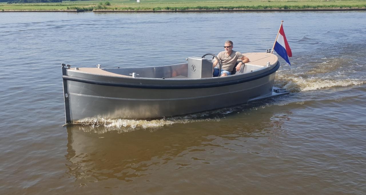 VanVossen Sloep 550 aluminium 8