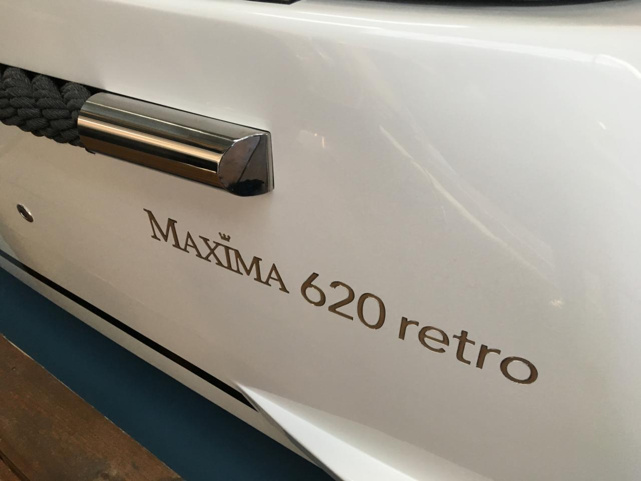 Maxima 620 Retro met Honda 60 pk DEMO AANBIEDING 12