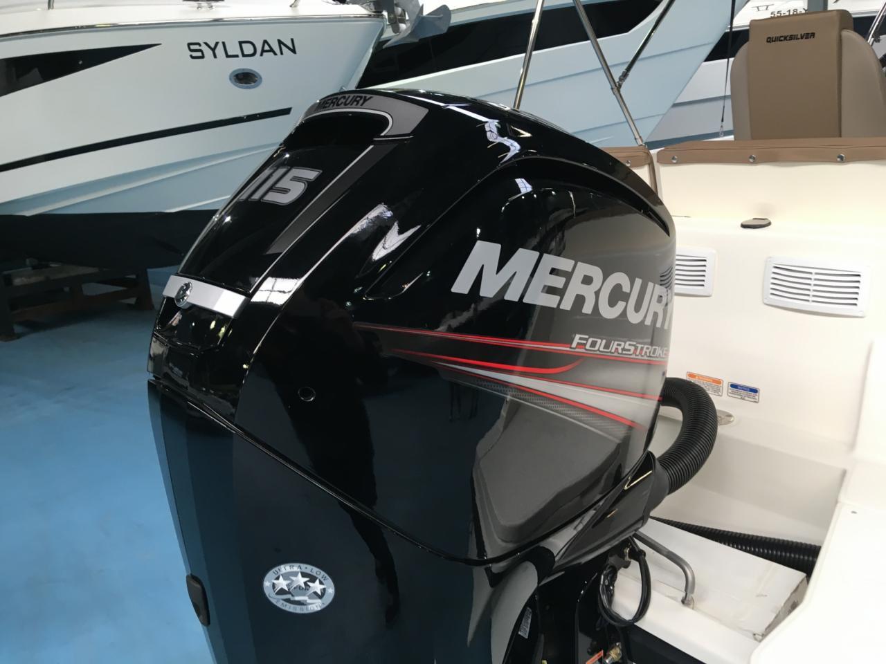 Quicksilver 605 activ open met 115 pk Mercury! 5