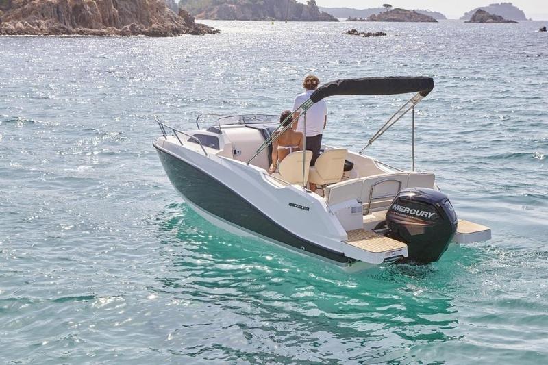 Quicksilver 555 activ cabin met Mercury 100 pk 9