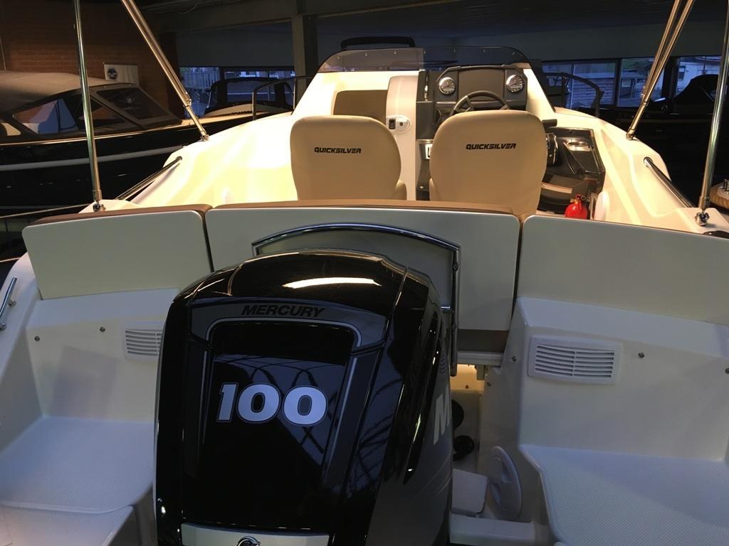 Quicksilver 555 activ cabin met Mercury 100 pk 8