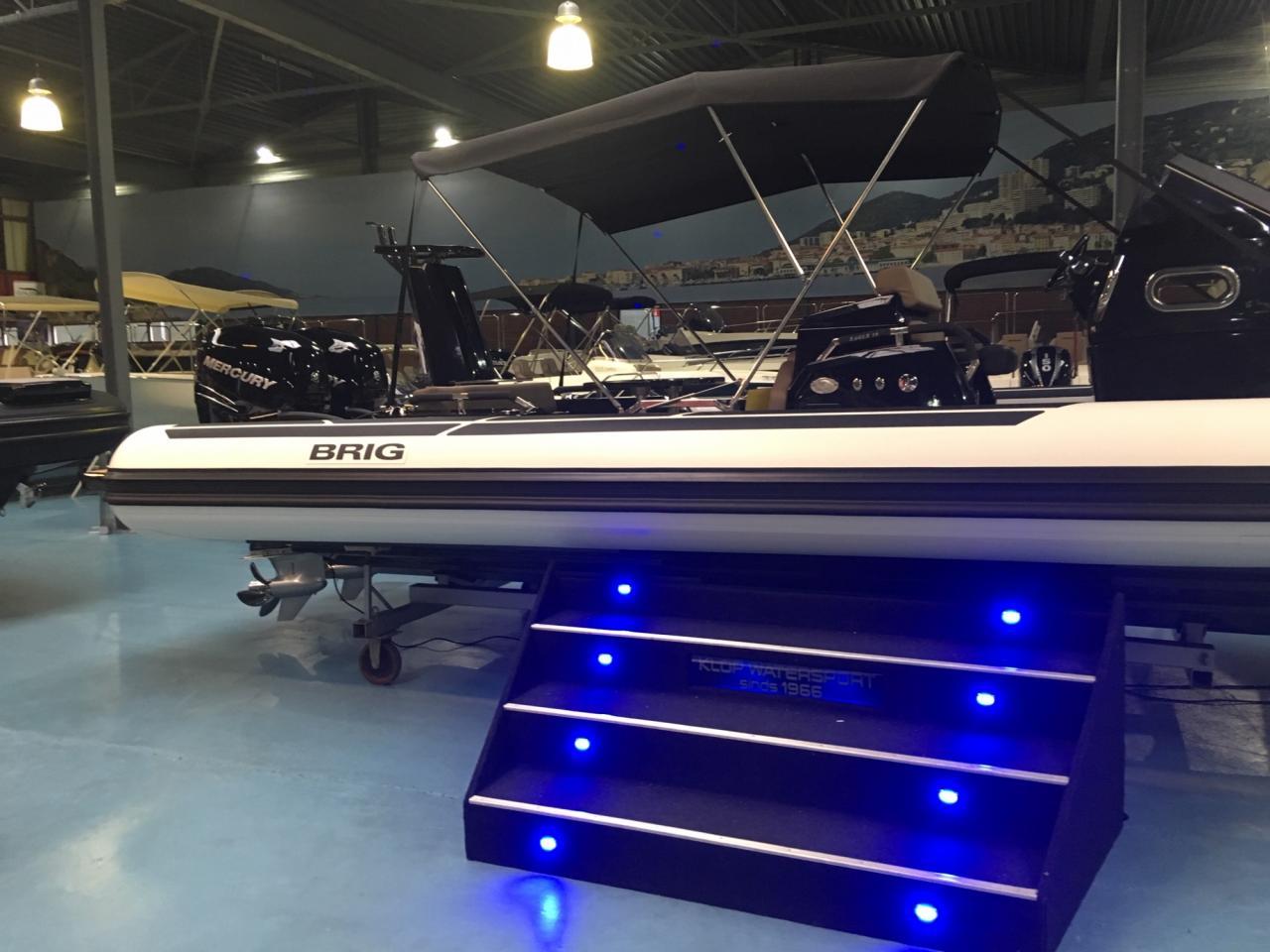 Luxe Brig Eagle 10 rib met 2x Mercury Verado 350 pk! 9