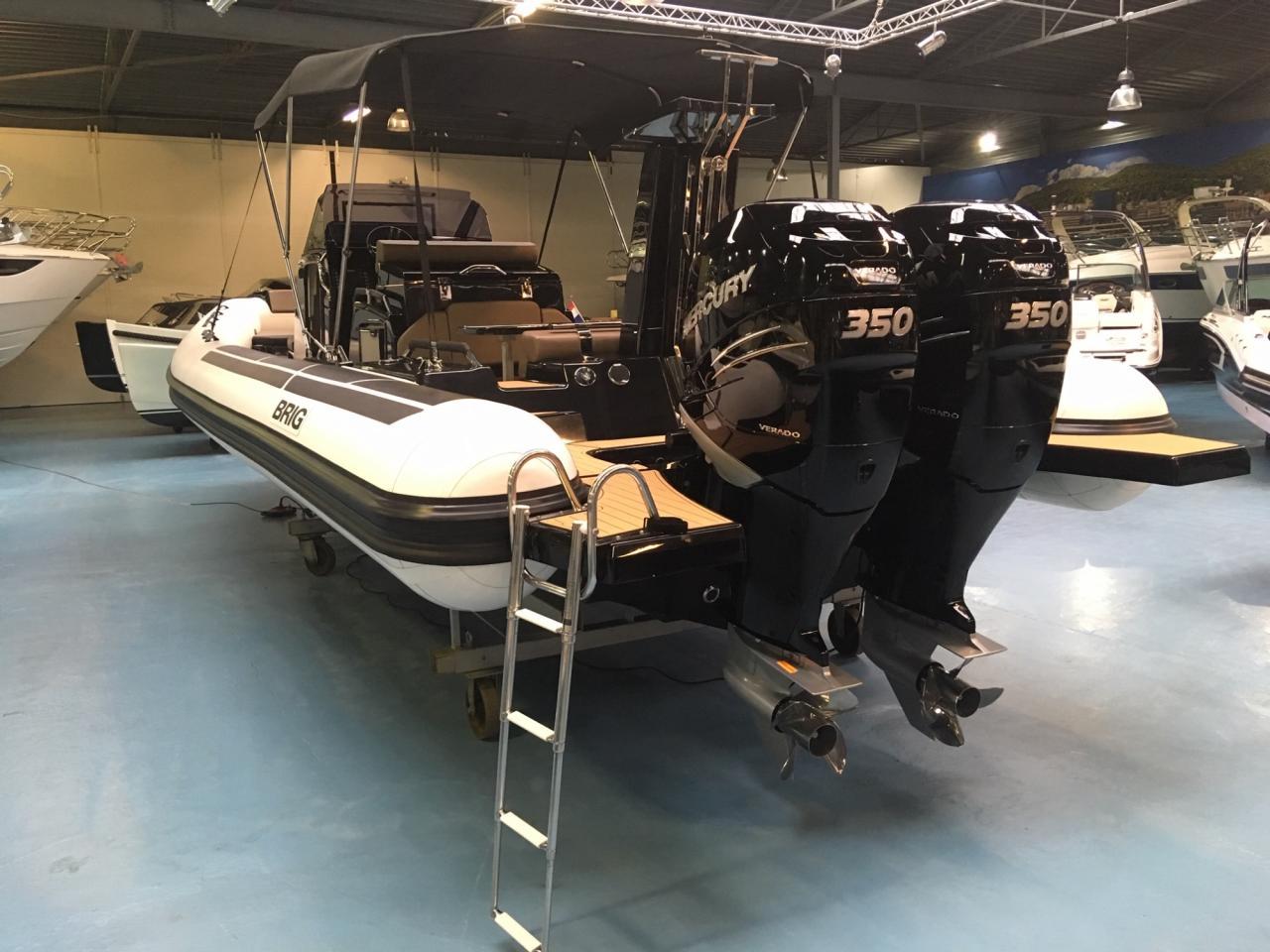 Luxe Brig Eagle 10 rib met 2x Mercury Verado 350 pk! 4