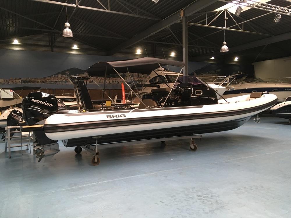 Luxe Brig Eagle 10 rib met 2x Mercury Verado 350 pk! 13