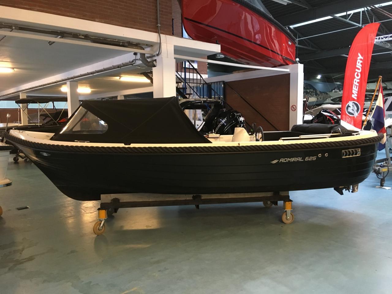 Admiral 625 met Mercury 20 pk en vele opties! 1