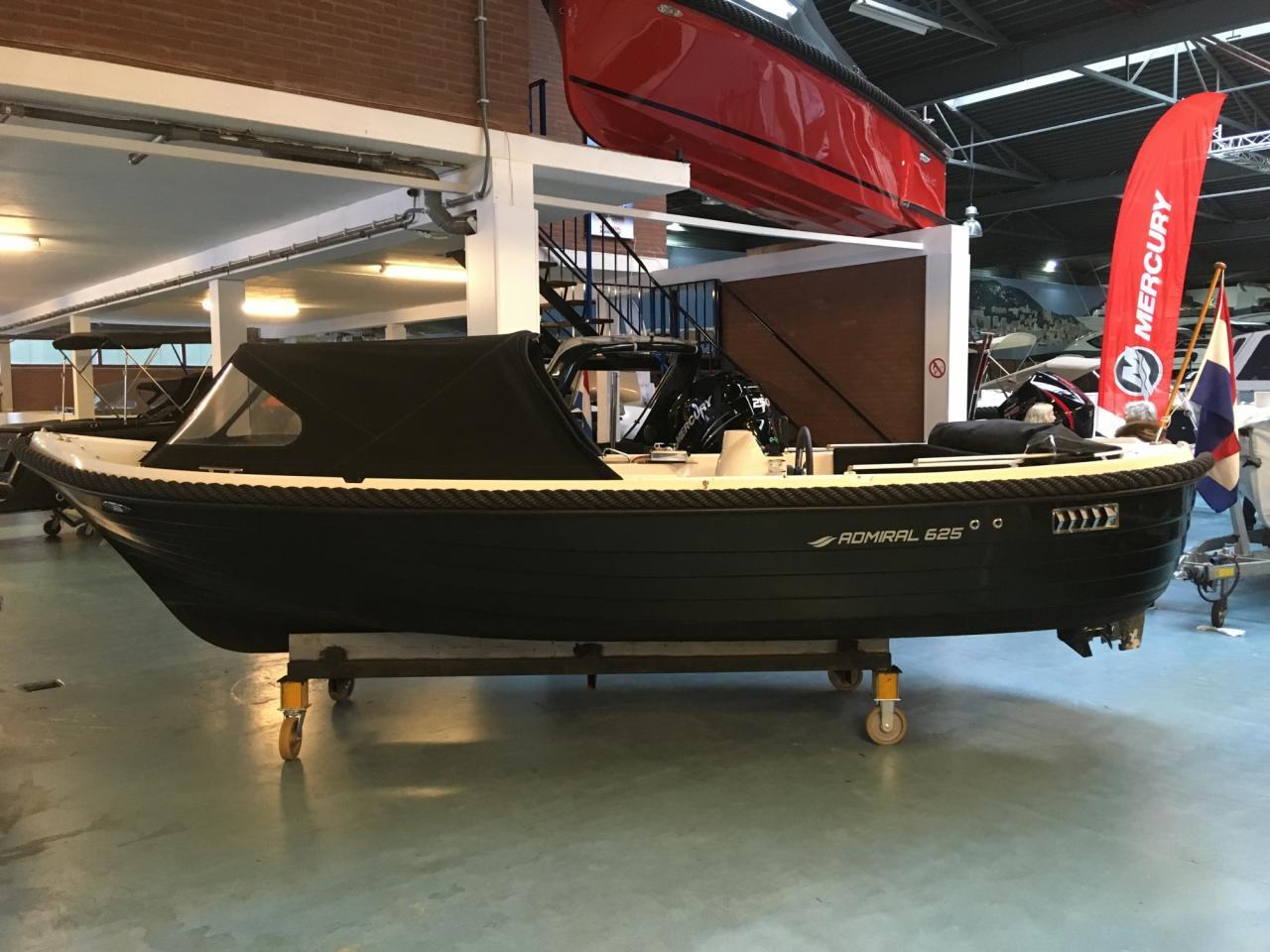 Admiral 625 met Mercury 20 pk en vele opties! 13