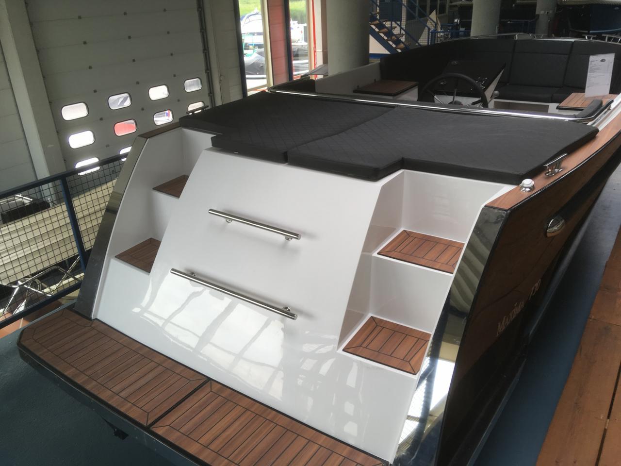 Maxima 730 tendersloep met Honda 135 pk motor DIRECT LEVERBAAR! 3