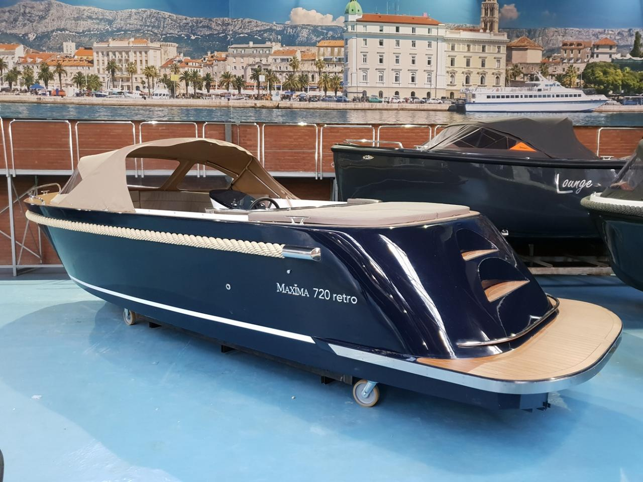 Maxima 720 retro met Honda 60 pk - levering 2022! 2