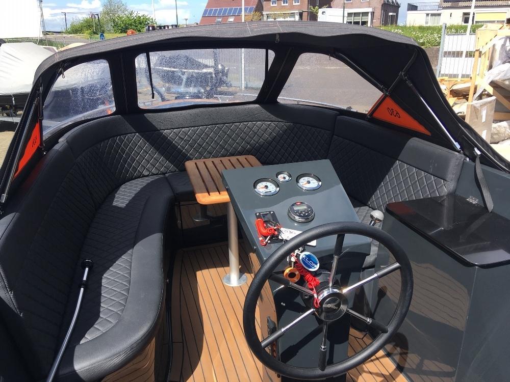 Maxima 630 antraciet jong gebruikt met Honda 50 pk 3