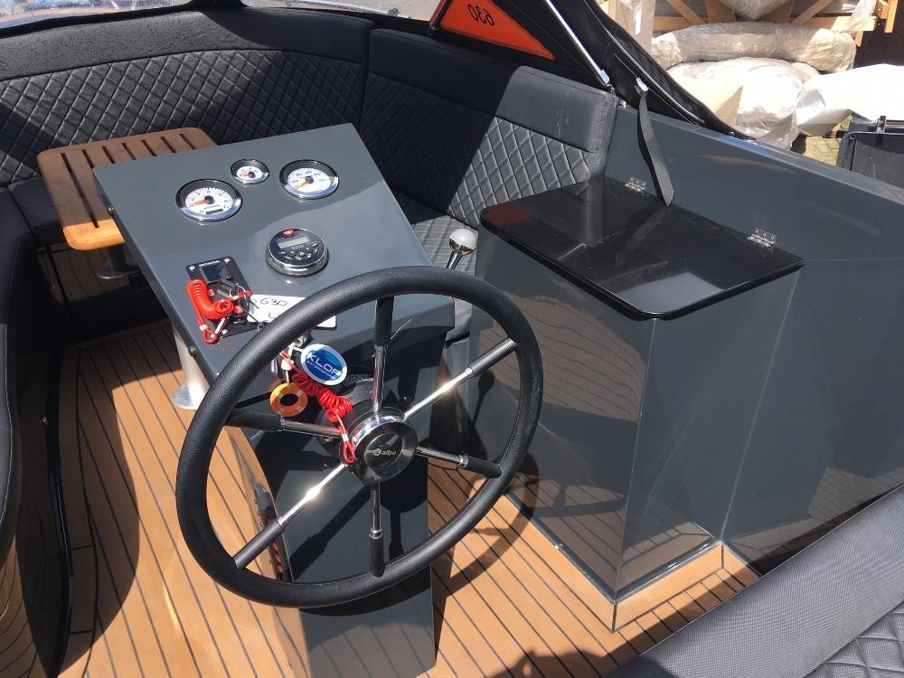 Maxima 630 antraciet jong gebruikt met Honda 50 pk 5