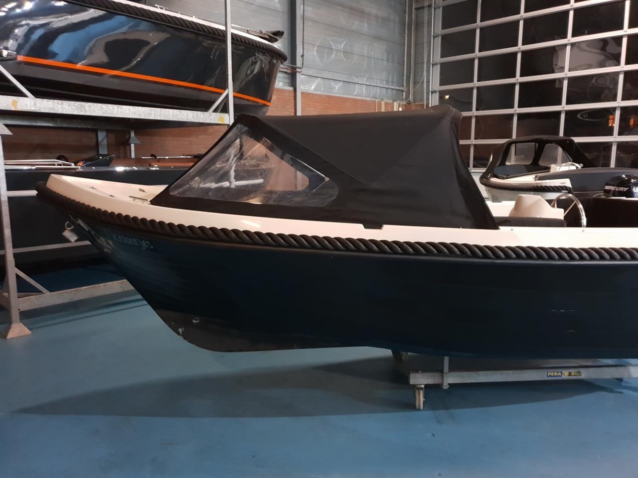 Anker 575 deluxe met Honda 20 pk motor 7