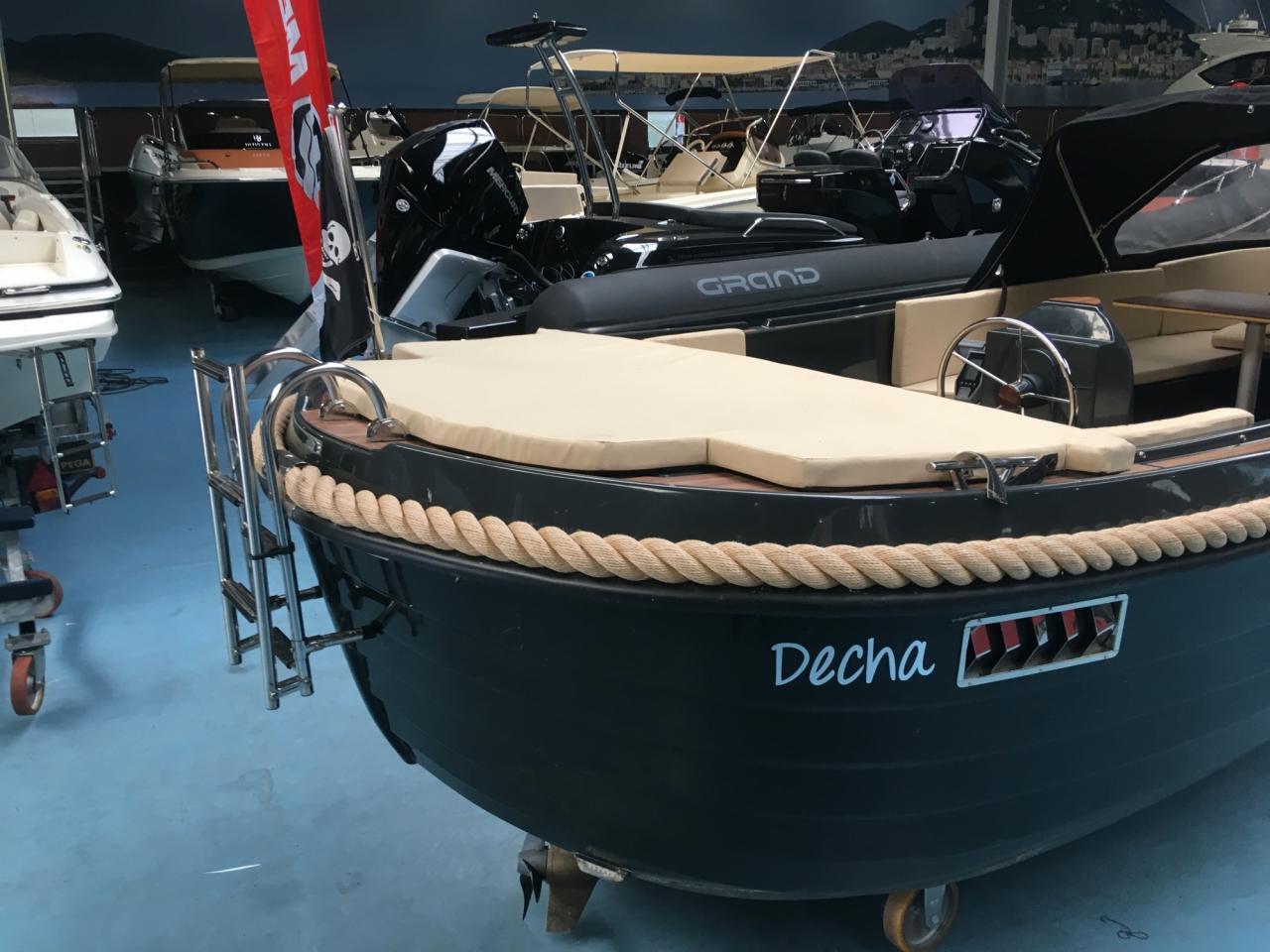Anker 575 deluxe met Craftsman Navy 6.0 elektromotor 6