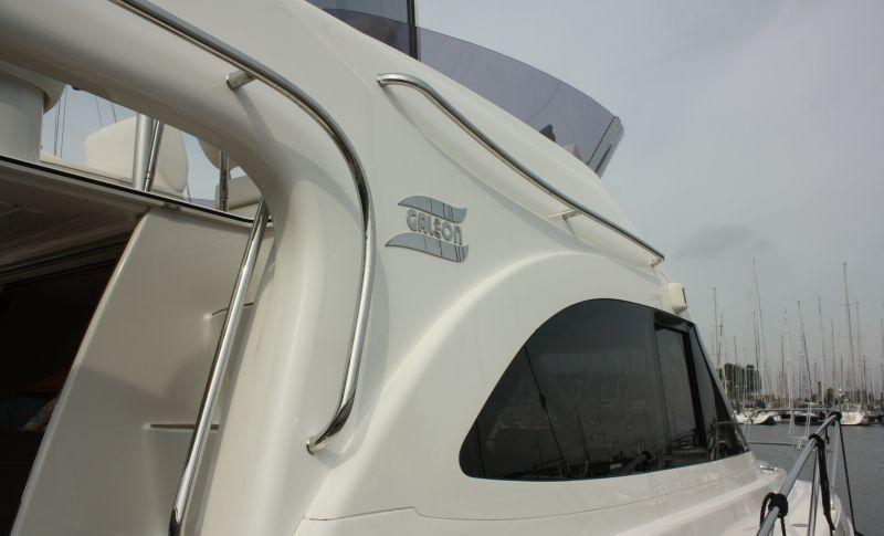 Galeon 330 flybridge met 2 x Volvo Penta D3 190 pk 9