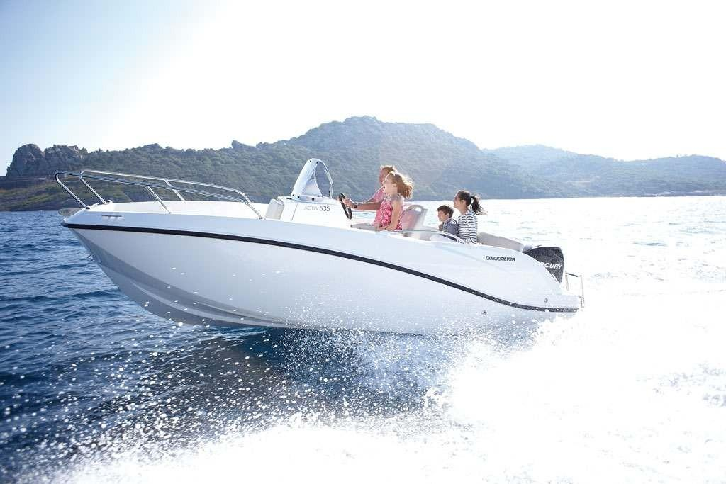 Quicksilver 555 activ open 1