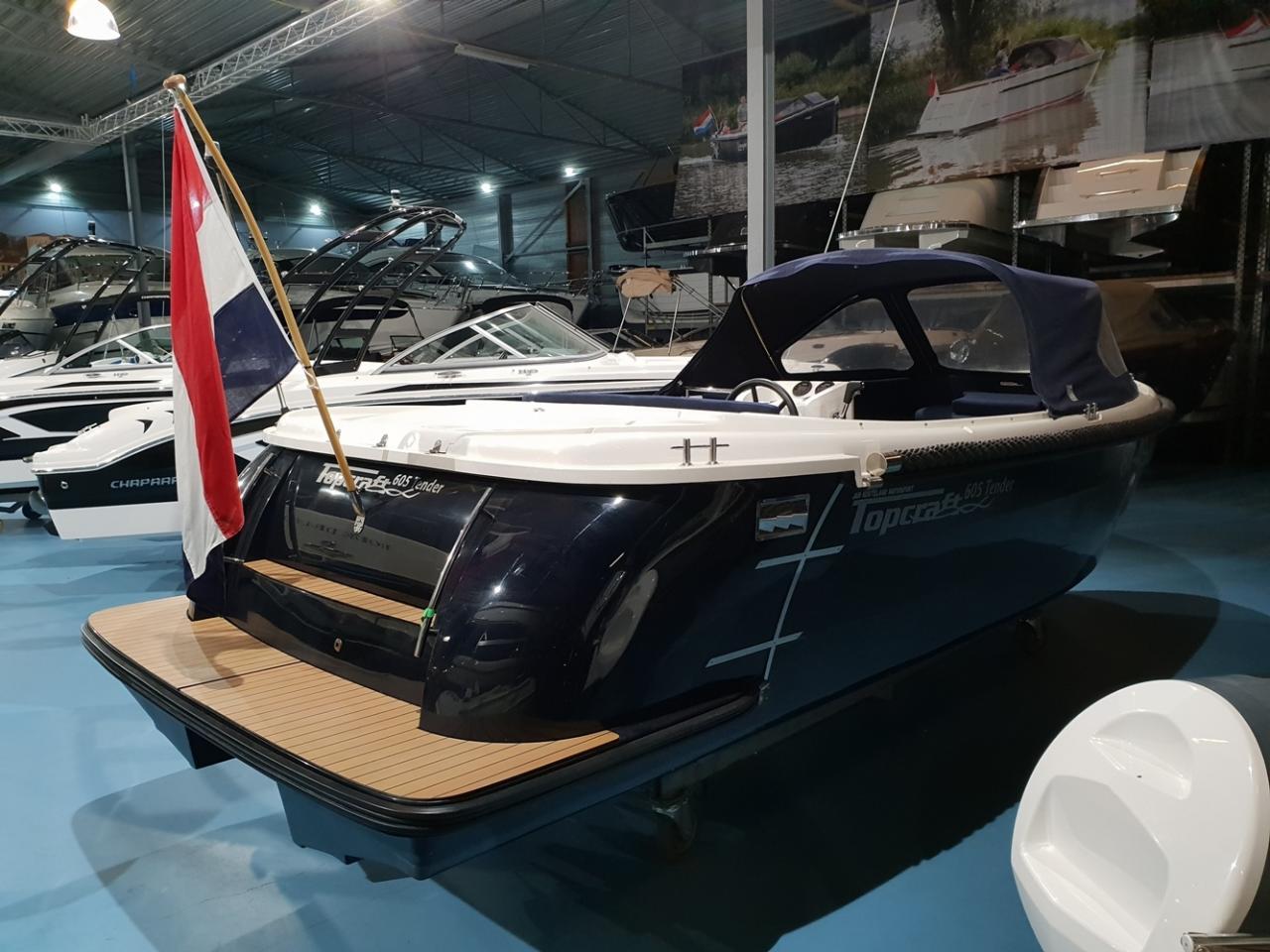 Topcraft 605 tender met Yamaha 50 pk nieuwstaat! 2