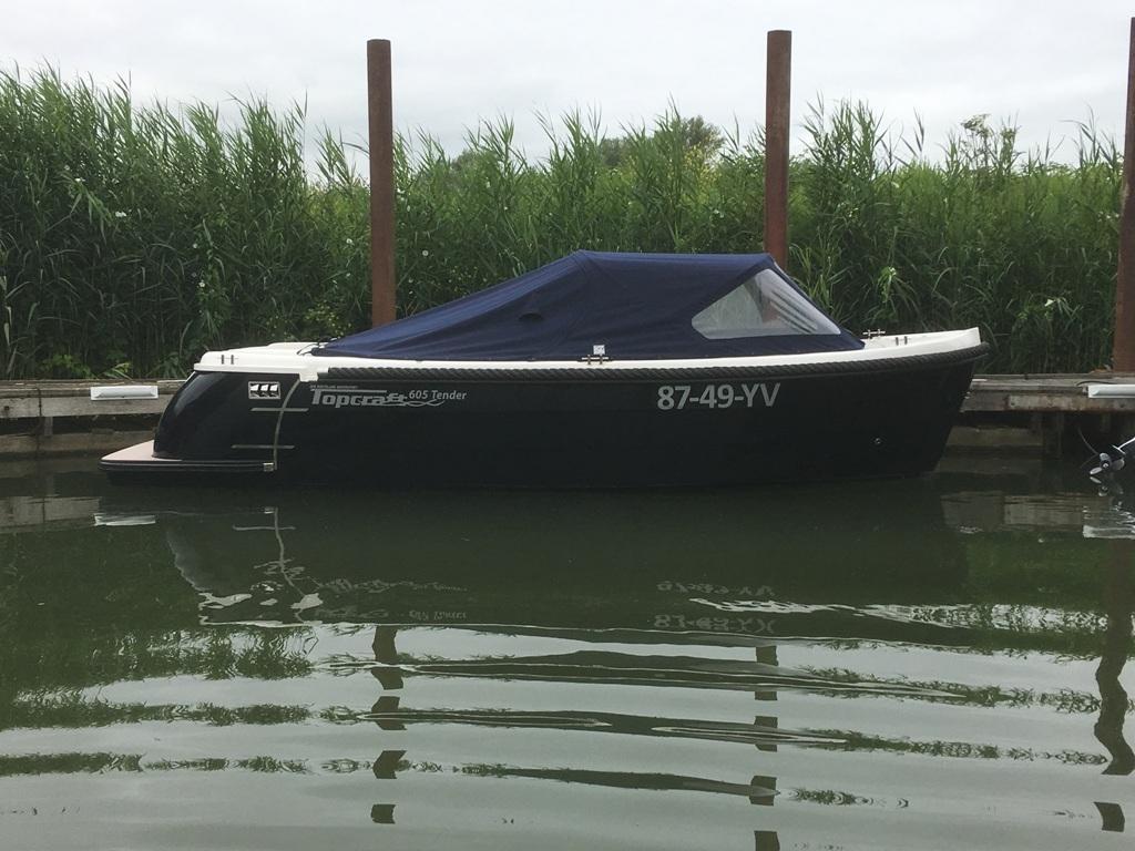 Topcraft 605 tender met Yamaha 50 pk nieuwstaat! 10