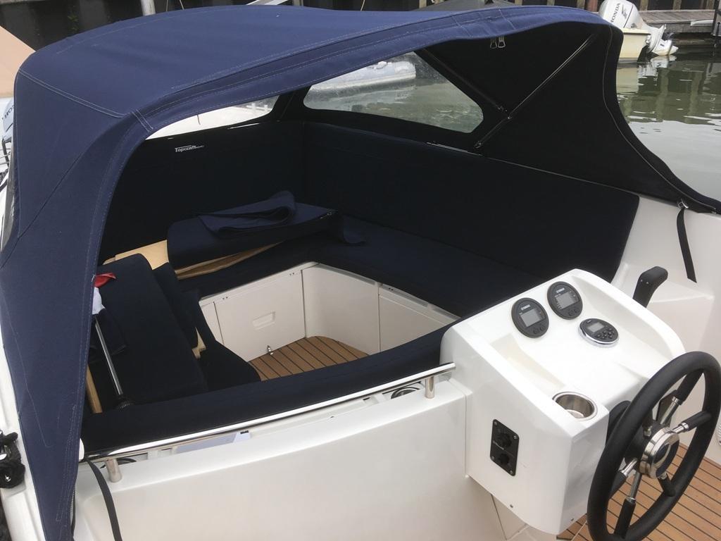 Topcraft 605 tender met Yamaha 50 pk nieuwstaat! 9