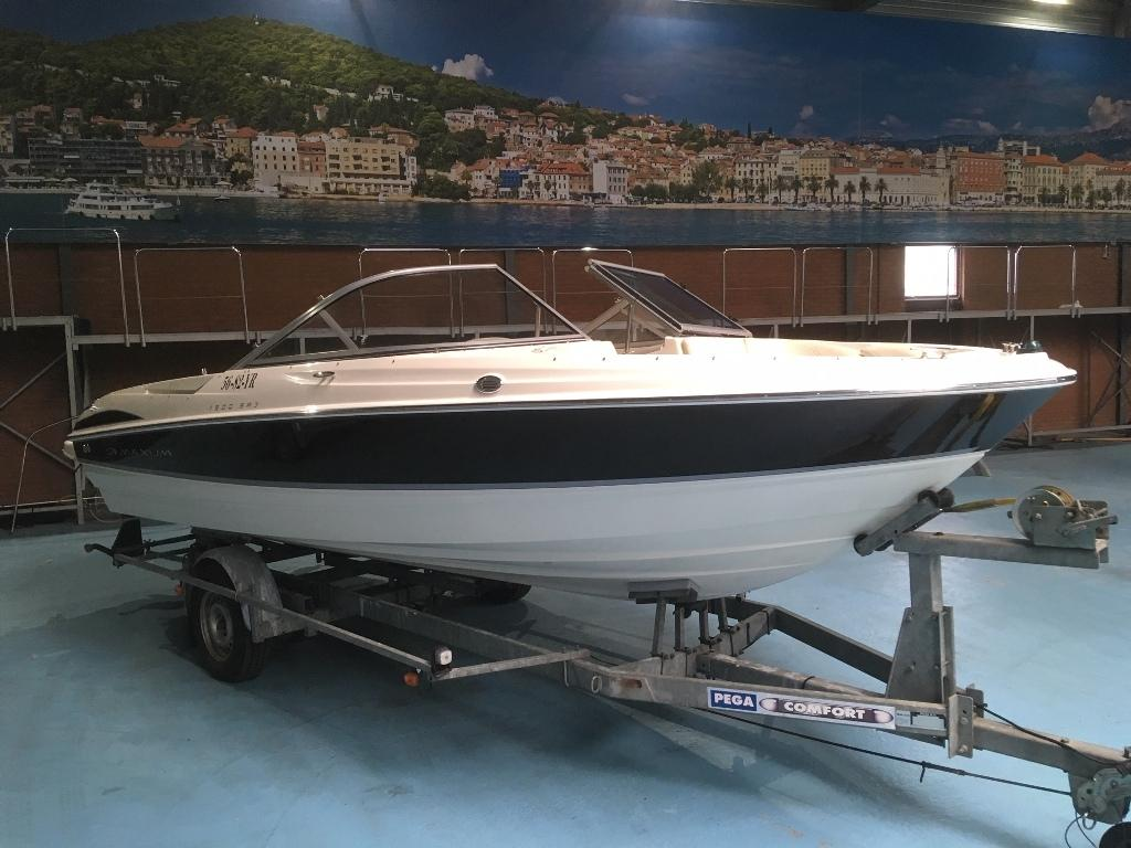Maxum 1900 SR3 met Mercruiser 4.3 speedboot 1