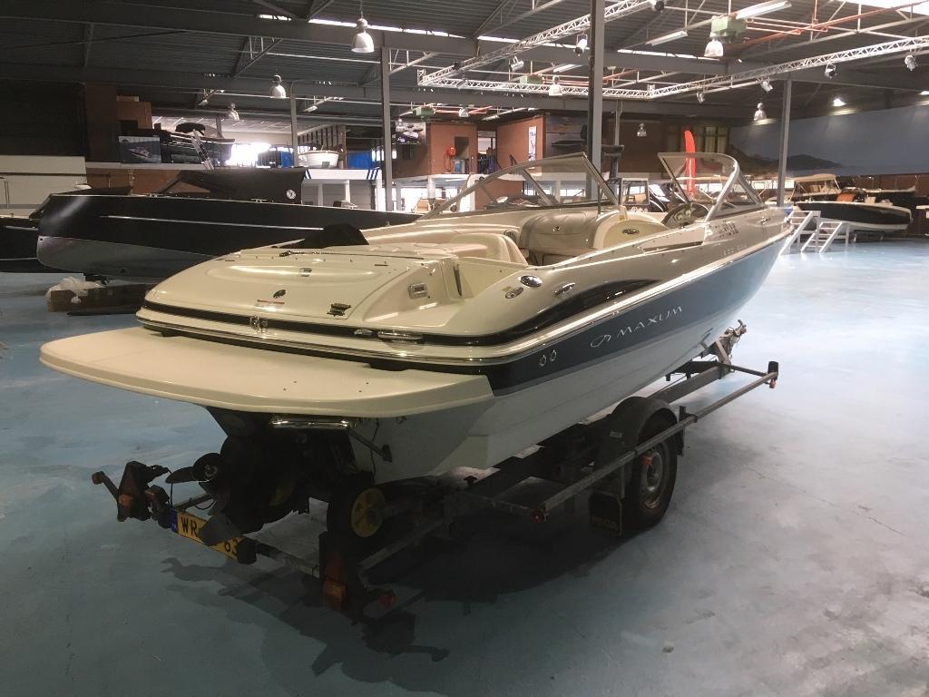 Maxum 1900 SR3 met Mercruiser 4.3 speedboot 2