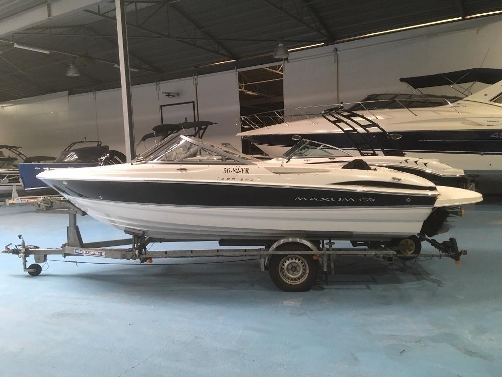 Maxum 1900 SR3 met Mercruiser 4.3 speedboot 8