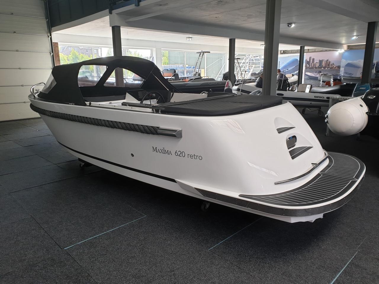 Maxima 620 Retro met Honda 40 pk OP VOORRAAD! 2