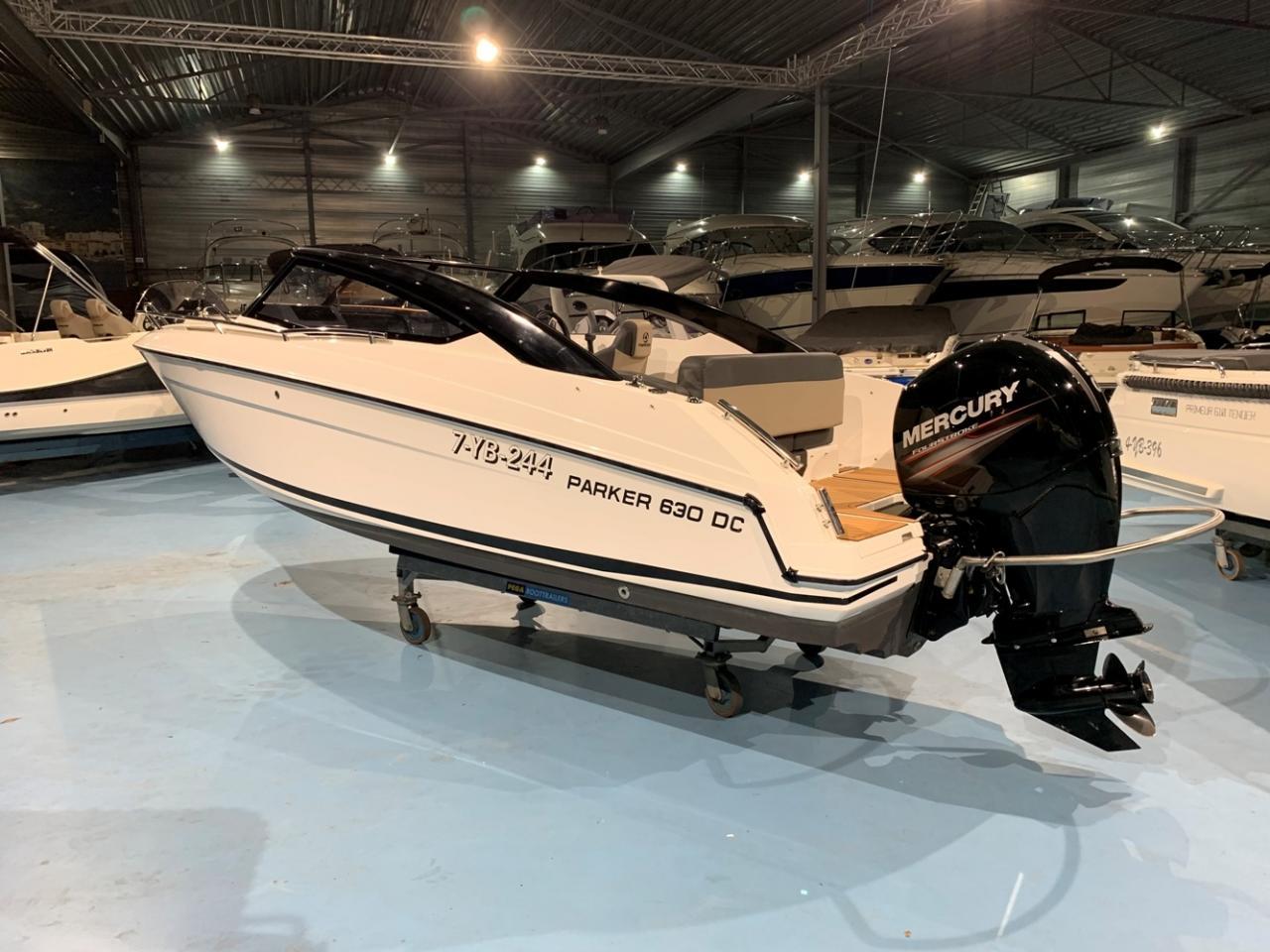 Parker 630 Day Cruiser met Mercury 150 pk 5