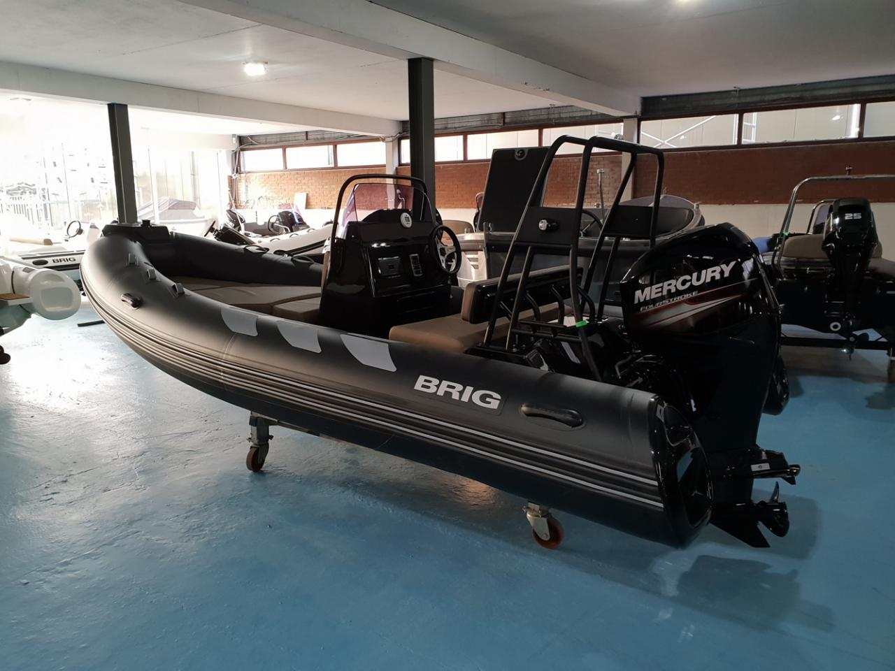 Brig 485 navigator met Mercury 60 pk 3