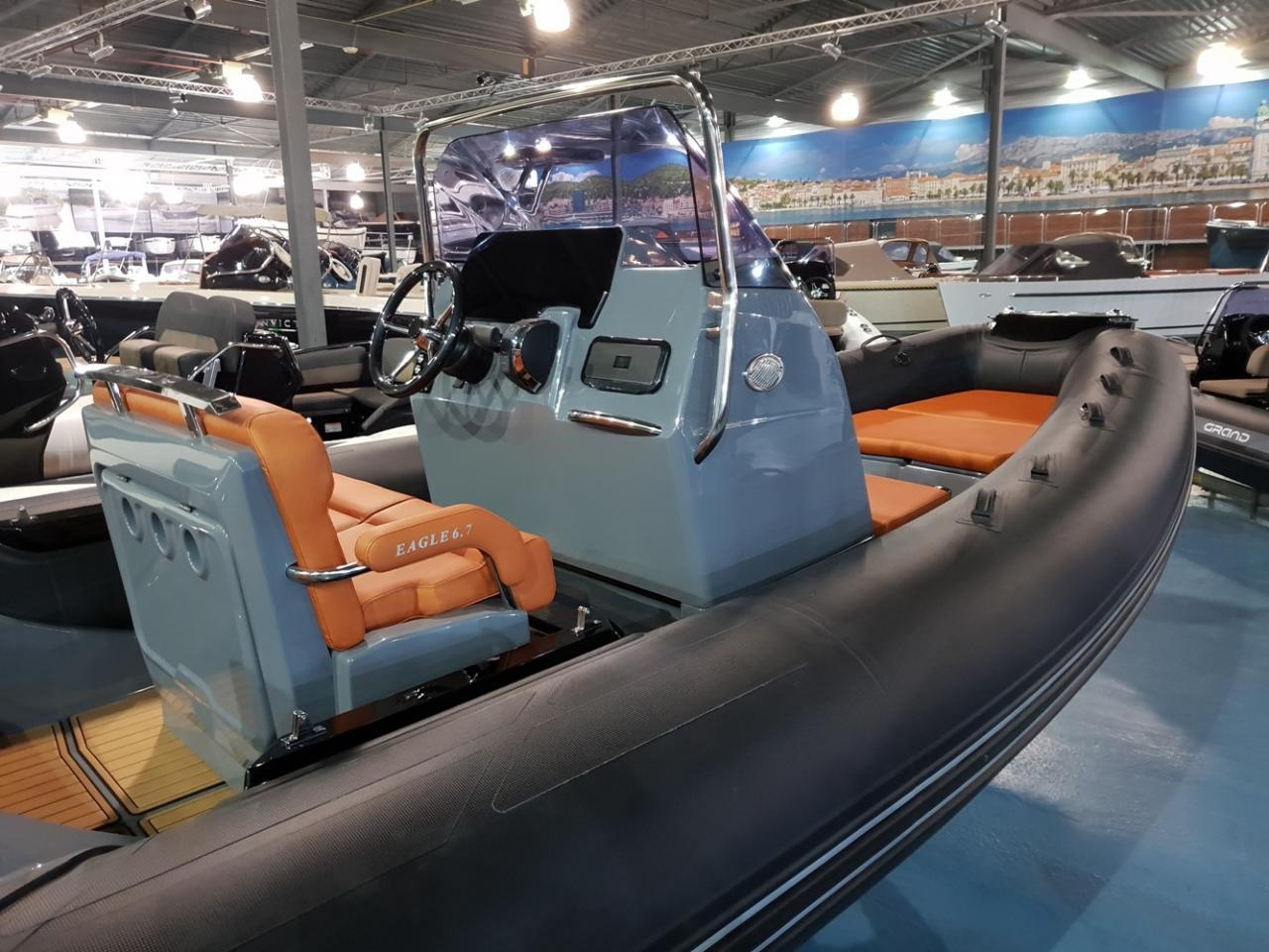 Brig Eagle 6.7 rib met Mercury 225 pk VAARKLAAR! 3