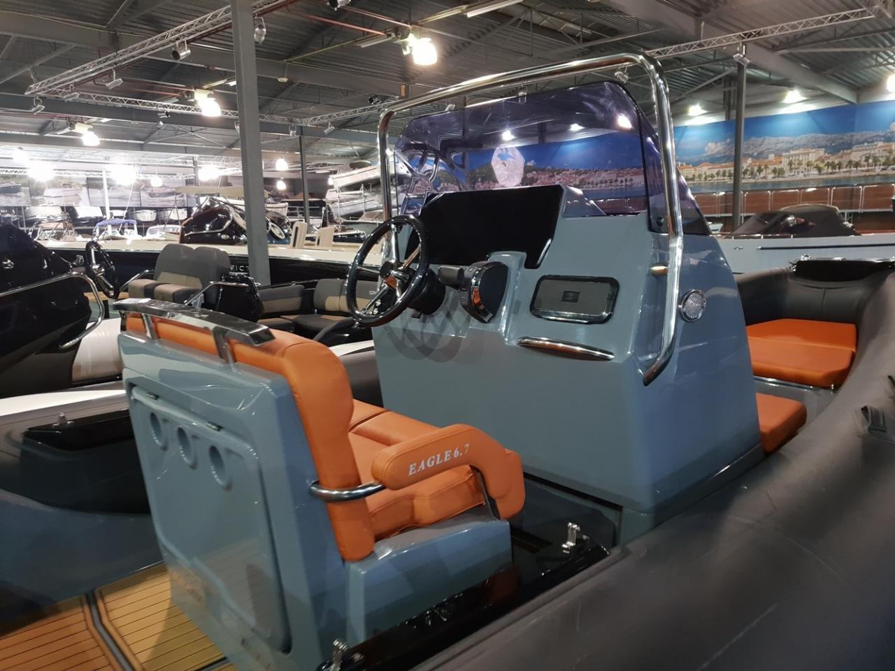 Brig Eagle 6.7 rib met Mercury 225 pk VAARKLAAR! 6