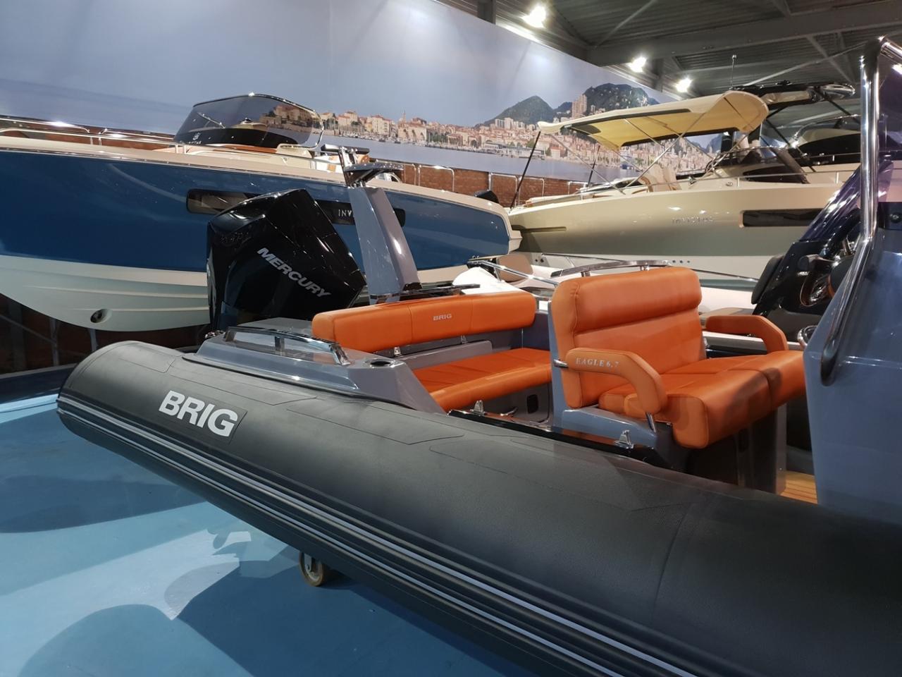 Brig Eagle 6.7 rib met Mercury 225 pk VAARKLAAR! 5