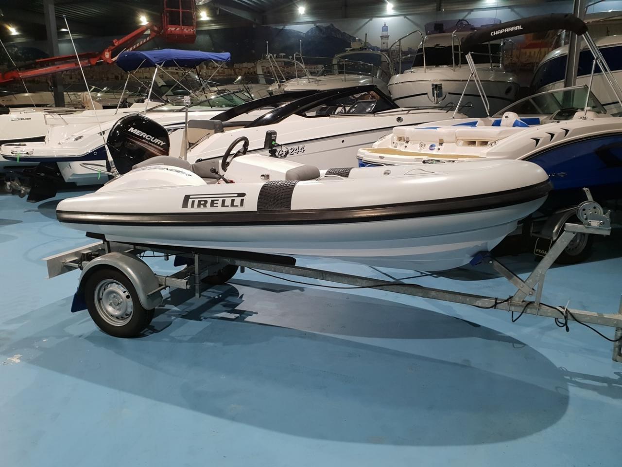 Pirelli J33 Jet Tender met Textron 80 pk NIEUWSTAAT! 1