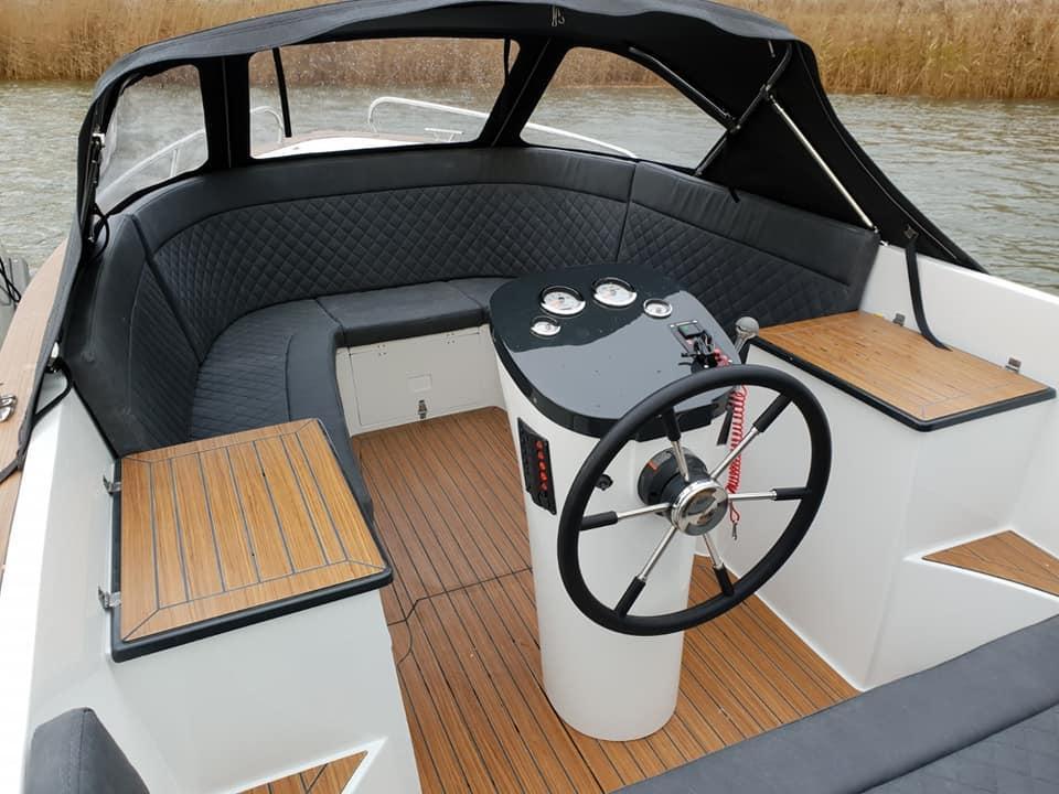 Maxima 620 Retro MC met Honda 60 pk 4