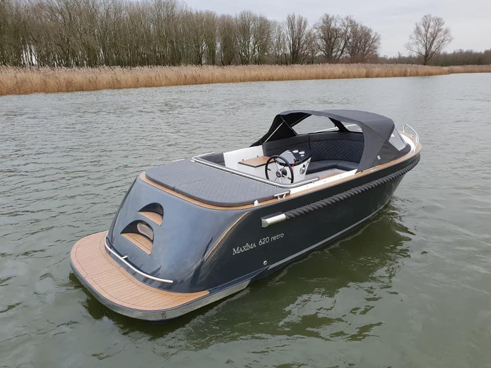 Maxima 620 Retro MC met Honda 60 pk 3
