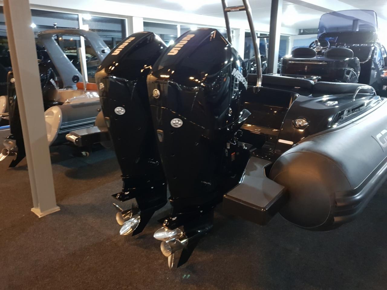 Grand G850L met 2 x Mercury Verado 225 pk 3