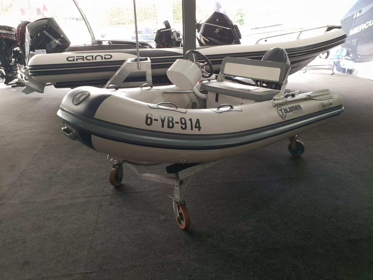 Talamex 310 rubberboot met Yamaha 20 pk NIEUWSTAAT! 3