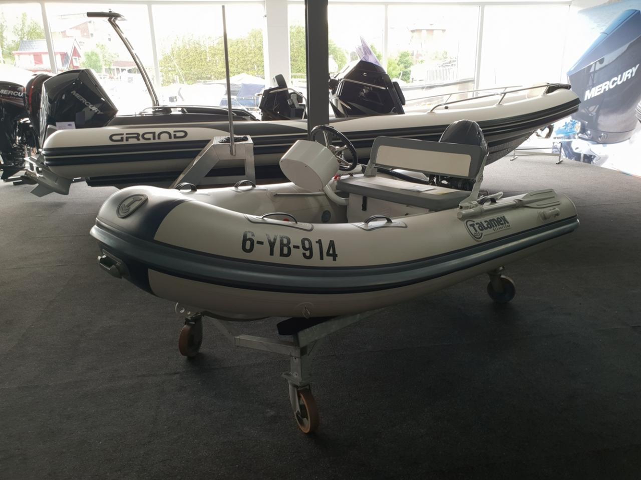 Talamex 310 rubberboot met Yamaha 20 pk NIEUWSTAAT! 5