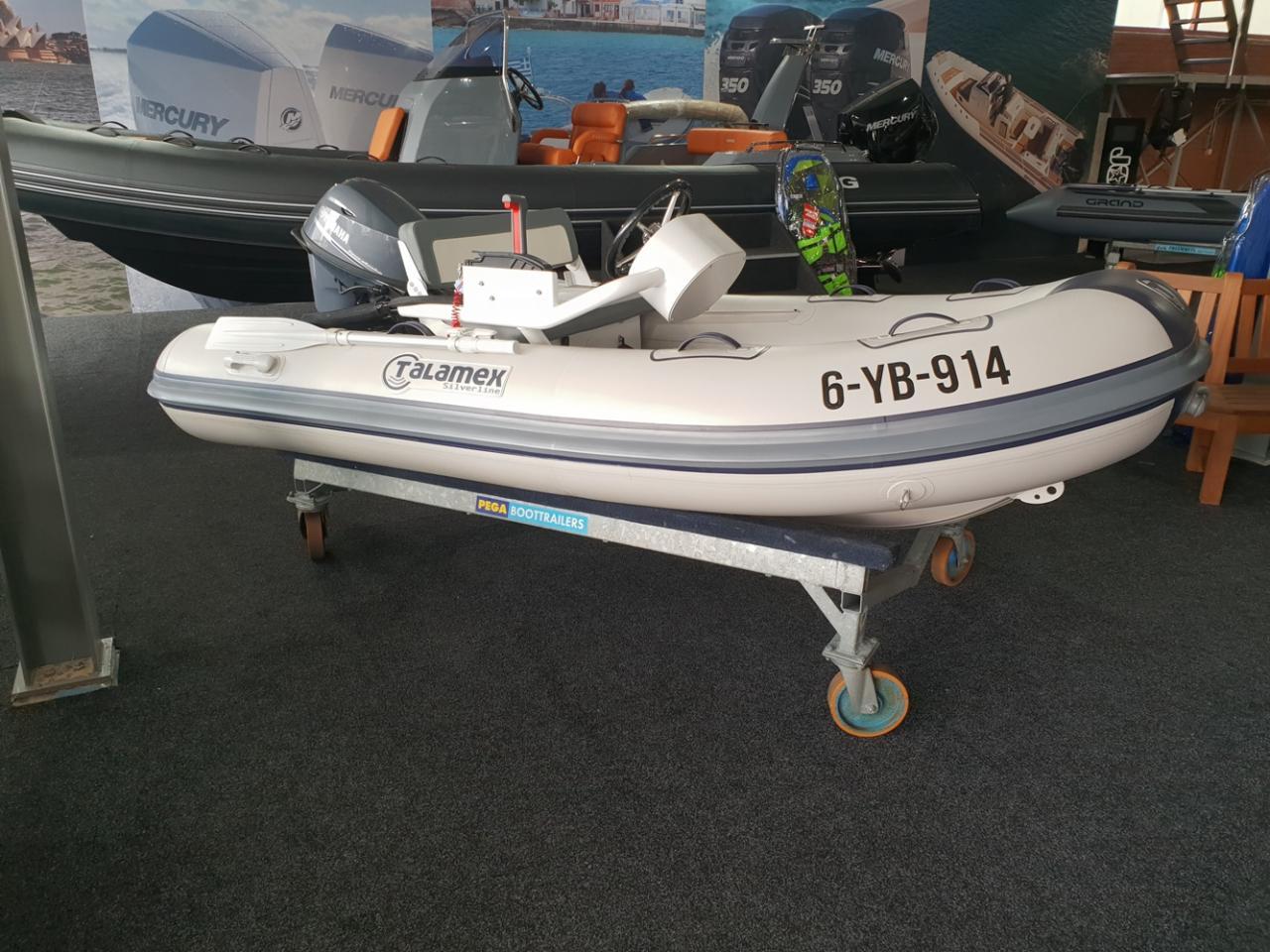 Talamex 310 rubberboot met Yamaha 20 pk NIEUWSTAAT! 4
