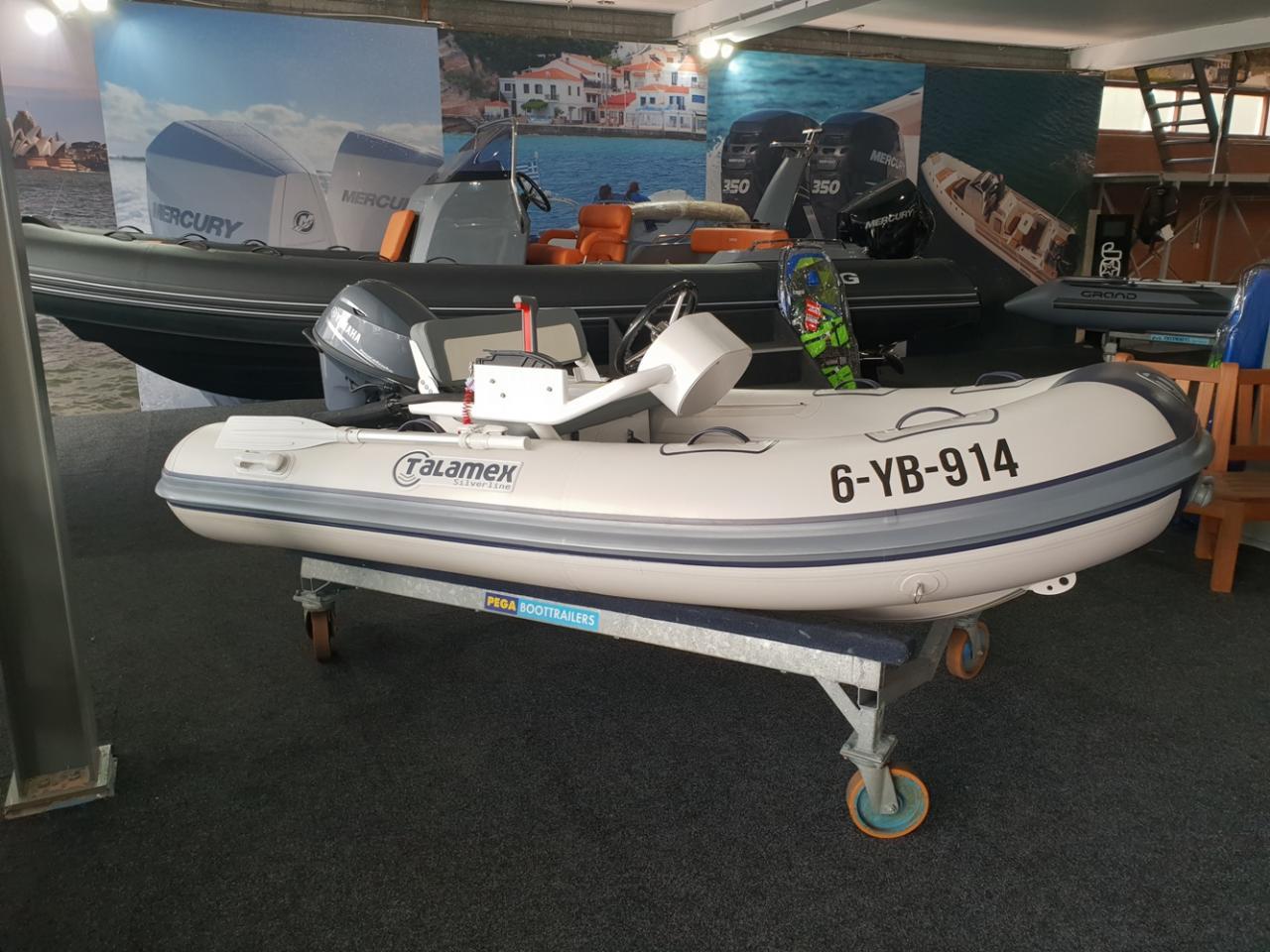 Talamex 310 rubberboot met Yamaha 20 pk NIEUWSTAAT! 1