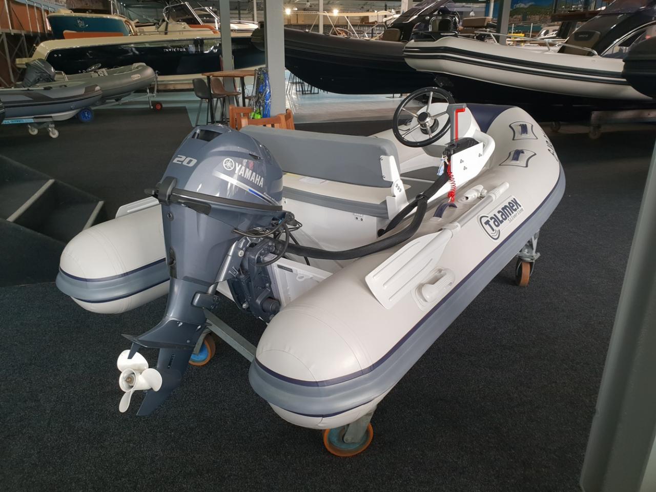 Talamex 310 rubberboot met Yamaha 20 pk NIEUWSTAAT! 2
