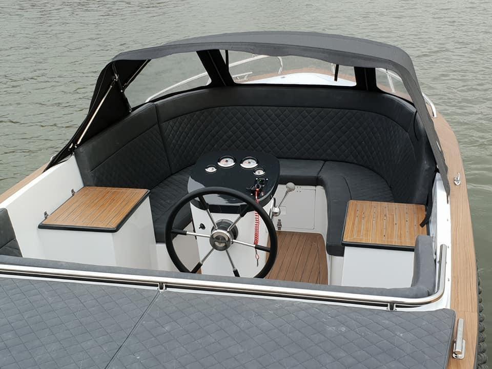 Maxima 620 Retro MC met Honda 50 pk 25