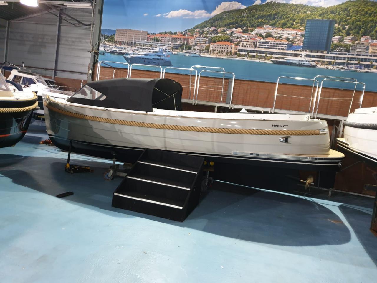 Maril 7NXT met Yanmar 80 pk op voorraad! 1