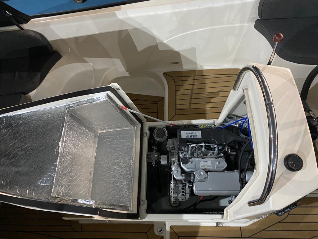 Asloep 650 met Craftsman 27 pk diesel 10