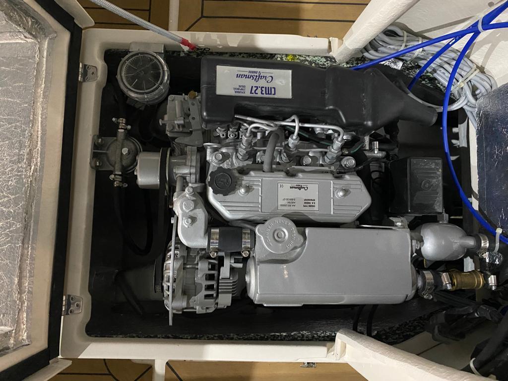 Asloep 650 met Craftsman 27 pk diesel 11